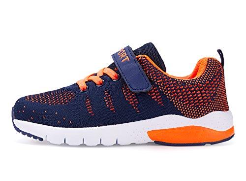 MAYZERO Bambina Scarpe da Ginnastica Ragazzo Ragazza scarpe Unisex Kids  Scarpe da Corsa Leggera in Mesh Atletico Leggero per Ragazzi Ragazze Sneaker  (33 EU 6322acb1258