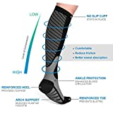 Satinior Compression Socks for Men and Women, 10-20mmHg...