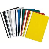 Exacompta 449225B - Lote de 25 subcarpetas PVC, A4, multicolor