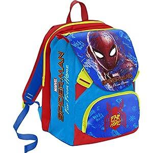 Mochila Seven Schoolpack Spiderman Far from Home con Estuche Completo