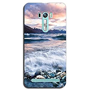 Mozine Valley Of Peace printed mobile back cover for Asus zenphone selfie