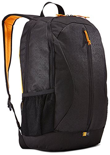Case Logic Ibira Daypack für Tablet & Notebook bis 39,6 cm (15.6 Zoll) Schwarz/Orange