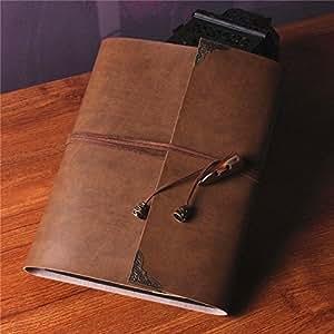 saibang personnel diy scrapbooking album photo albums en cuir fait main style r tro livre d 39 or. Black Bedroom Furniture Sets. Home Design Ideas