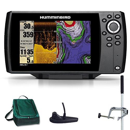 Humminbird Helix 7 DI GPS Down Imaging Echolot Seekartenplotter Combo Portabel Master Plus