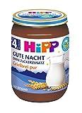 HiPP Gute Nacht Bio Grießbrei pur, 1er Pack (1 x 190 g)