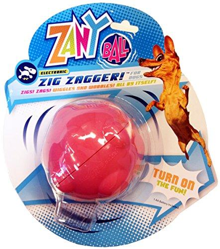 Zany Strauß Zany Ball–wackelnder, jiggling, Elektronische Dog Spielzeug (Bewegung Aktiviert-spielzeug Für Hunde)