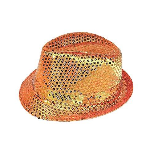 Chapeau-tendance - Chapeau Trilby Paillettes Orlan - - Mixte