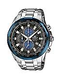 Casio Edifice Herren Analog Quarz mit Massives Edelstahl Armbanduhr EF539D1A2VEF