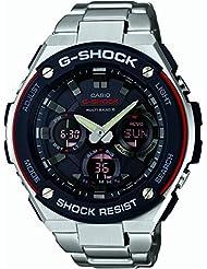 Casio G-SHOCK GST-W100D-1A4ER - Reloj de señor de acero, radiocontrolado multi banda y solar.