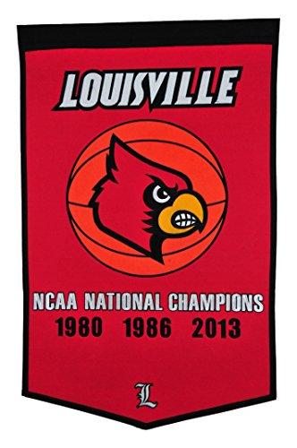 Winning Streak NCAA Louisville Cardinals Basketball Banner