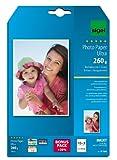 Sigel IP706 Papier photo professionnel, jet d'encre, ultra brillant, format 13 x 18 cm, 260g/m², 15 feuilles + 3 gratuites
