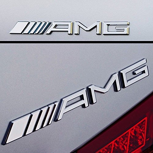 AMG hinten BOOT Trunk Badge Emblem für alle Modelle - Emblem Badge