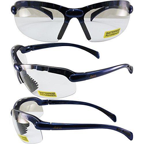 avis-c-2000-safety-glasses-blue-frames-clear-lens-ansi-z871-by-avis