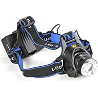 Hollyton impermeabile 1000 Lumen T6 Zoomable super luminoso a