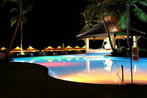 COOLWEST-36W-RGB-Iluminacin-de-piscinas-LED-PAR56-12V-ACDC-IP68-Impermeable-con-Control-Remoto