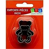 3Stück Minis Ausstechformen Bärchen aus Edelstahl in Lebensmittelqualität, Größen der Teddy Bear 2,3,4cm