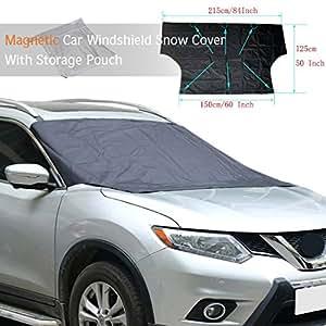 ploopy couverture voiture de pare brise magn tique couvercle du pare brise de. Black Bedroom Furniture Sets. Home Design Ideas