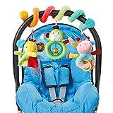 HENGSONG Kinderwagen Hängende Spielzeug Baby Geschenk Spirale Plüschtiere Spielzeug für Babyschale Kinderwagen