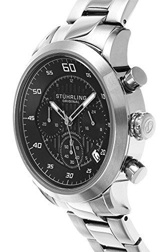 Men S Watches Stuhrling Original Men S 816 02 Monaco Stainless