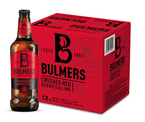 Bulmers Red Berries Cider (12 x 0.5 l)