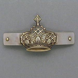 Haarspange Vintage Krone