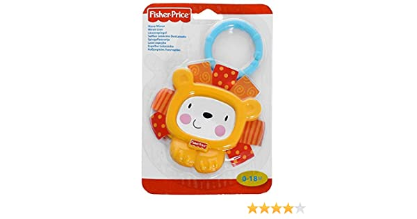 Hochet lion miroir Fisher Price 0-18 mois
