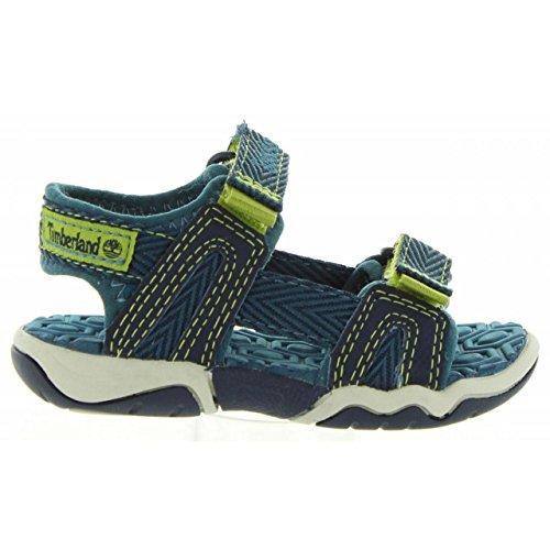 Sandalen für Junge und Mädchen TIMBERLAND A1K3F EAGLE BLACK IRIS Schuhgröße 30 (Timberland Sandalen Jungen)