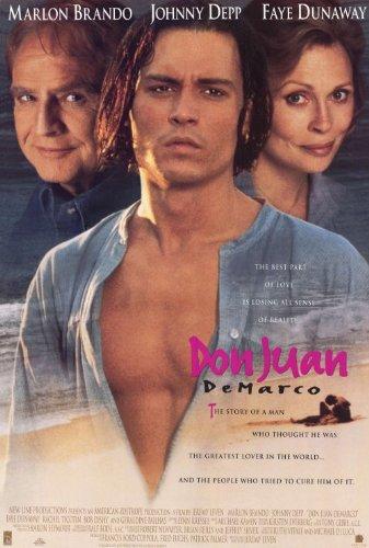 Don Juan De Marco Plakat Movie Poster (27 x 40 Inches - 69cm x 102cm) (1995)