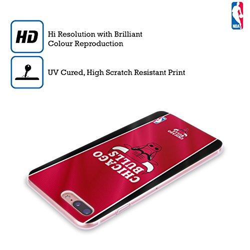 Ufficiale NBA Camouflage Digitale Chicago Bulls Cover Morbida In Gel Per Apple iPhone 6 / 6s Banner