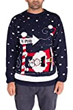 NOROZE Homme Femme Unisexe Xmas Noël Pull Pullover (to The Pub Marine, Large)