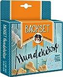 Backset Hundekekse: 25 gesunde Snacks für Ihren Liebling. Mit 3 Ausstechern aus Edelstahl -