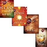 rhonda byrne the secret series 4 books collection set pack hero the secret the power andpaperback the magic