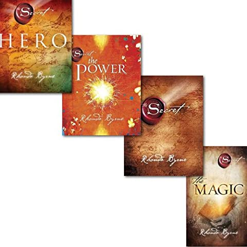 Rhonda Byrne The Secret Series 4 Books Collection Set Pack, Hero The Secret, The Power and[PaperBack] The