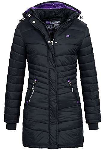 Geographical Norway Damen Jacke Steppmantel Carless navy M