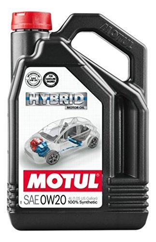 MOTUL - 107142/74 : Lubrificante motori ibridi olio HYBRID 0W20 4L