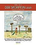 Skorpion 2020: Sternzeichenkalender-Cartoonkalender als Wandkalender im Format 19 x 24 cm. -