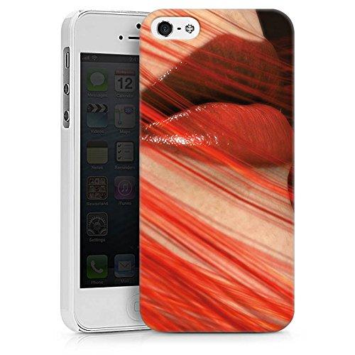 Apple iPhone X Silikon Hülle Case Schutzhülle Lippen Erotik Weiblich Hard Case weiß