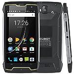 Cubot KingKong (2018) Android 7 Dual Sim Outdoor Smartphone ohne Vertrag, IP68 Wasserdicht, Stoßfest und Staubdicht, 4400 mAh Akku, GPS+Kompass, 2GB+16GB Interner Speicher, 13MP Hauptkamera / 8MP Frontkamera, 5 Zoll HD IPS Touch Display mit 10 Punkte Noten Funktion, 1.3GHz Quad-Core Prozessor, Wifi, Bluetooth, Schwarz