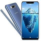 Smartphone Offerta Del Giorno,5.84 Pollici 3GB RAM 32GB ROM,3800 mAh Batteria,Fotocamera da 13MP,Dual Sim,Face ID,Android 7.0,CPU 4 Core,3G+ Cellulari Offerte Spiphone Note 9 (Blu)