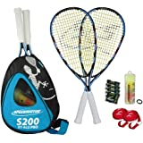 Speedminton Set S 200 2013, blau/schwarz/weiß, 400081