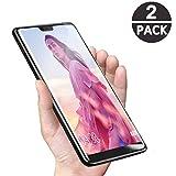 Huawei P20 Lite Vetro Temperato,Premium 9H LCD [5 Anti-explose] Pellicola Protettiva per Huawei P20 Lite Screen Protector[2 Pack]