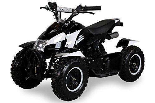 Veicolo bambini Miniquad bambini ATV Cobra pocketquad 49cc 2tempi Quad ATV Pocket Quad da bambino nero/bianco