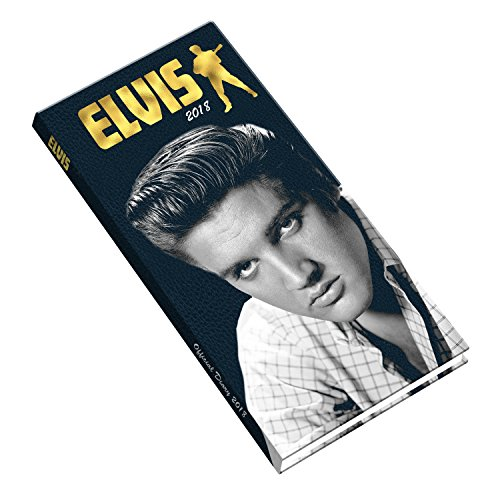 Elvis Official 2018 Diary - Week to View Slim Pocket Format (Elvis-tageskalender)