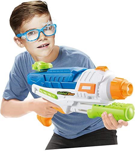 WTUGAIOHG Suchen Sie Immer NOCH NACH DEM PERFEKTEN Sommerstrandspielzeug? Long Range Wasserpistole Water Blaster Spielzeug Sommer Outdoor 3 + Jahre Spielzeug (Pump Pistole Wasser)
