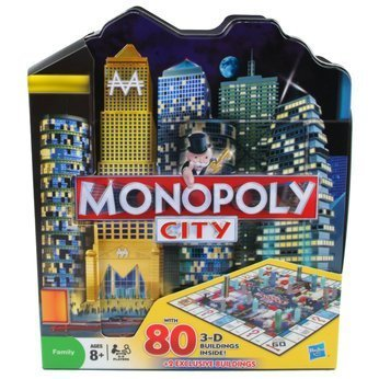 Monopoly City Collector's Edition in City Shaped Collectible Tin by Hasbro (Spiel City Monopoly)