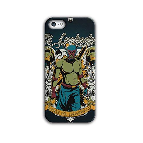 Lunchador Zombie Fantasie Maske kauen iPhone 5 / 5S Hülle | Wellcoda