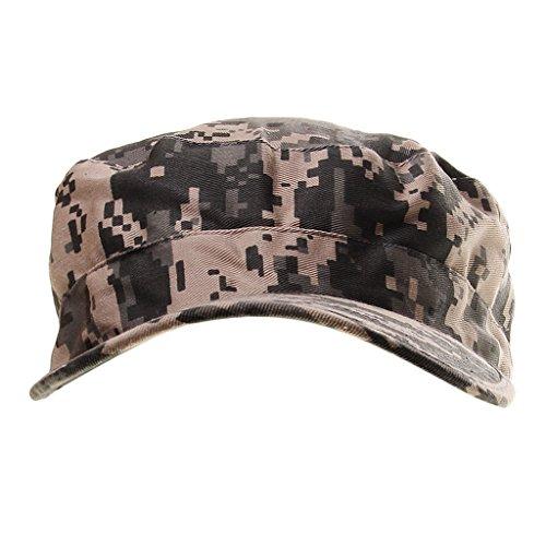 Casquettes Camouflage Réglable pour Camping Randonnée Chasse Escalade en Plein Air Hat Camouflage Loisirs Cap Camo 1