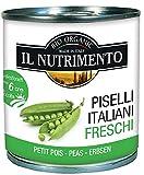 Probios Piselli Italiani al Naturale Confezione Tre Pezzi - 480 gr - [confezione da 4]
