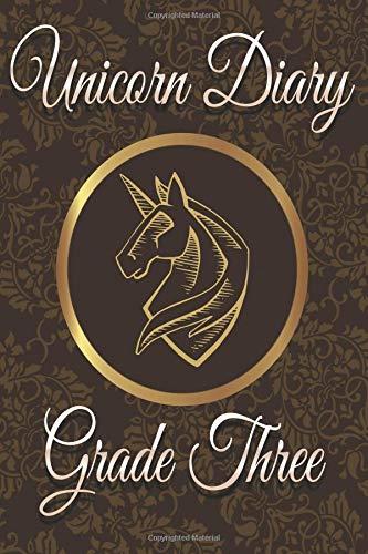 Three: Unicorn Blank Notebook ()