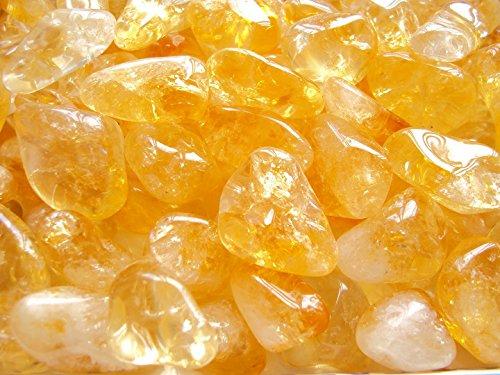 Pietre di quarzo citrino 100g lucidate in